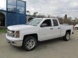 2014 Summit White Chevrolet Silverado 1500 LT Double Cab 4x4 #87714002