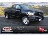 2014 Black Toyota Tundra SR5 Double Cab 4x4 #87713809