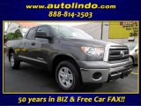 2011 Magnetic Gray Metallic Toyota Tundra SR5 Double Cab #87713803