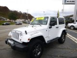 2011 Bright White Jeep Wrangler Mojave 4x4 #87714299