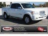 2005 Natural White Toyota Tundra SR5 Double Cab #87763247