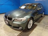 2011 Tasman Green Metallic BMW 3 Series 328i xDrive Sedan #87763106