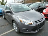 2014 Sterling Gray Ford Focus SE Sedan #87763186