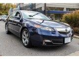 2013 Fathom Blue Pearl Acura TL SH-AWD Technology #87763184