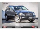 2005 Black Mercedes-Benz ML 350 4Matic #87763138