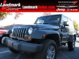 2012 Black Forest Green Pearl Jeep Wrangler Sport 4x4 #87789929