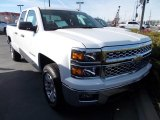2014 Summit White Chevrolet Silverado 1500 LT Double Cab 4x4 #87790039