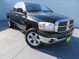 2006 Black Dodge Ram 1500 Laramie Quad Cab 4x4 #87789987
