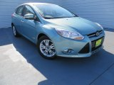 2012 Frosted Glass Metallic Ford Focus SEL 5-Door #87789985
