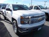 2014 Summit White Chevrolet Silverado 1500 LT Crew Cab 4x4 #87790026
