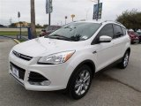 2014 White Platinum Ford Escape Titanium 1.6L EcoBoost #87789858