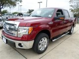 2013 Ruby Red Metallic Ford F150 XLT SuperCrew #87789854