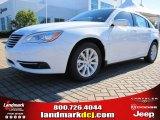 2014 Bright White Chrysler 200 Touring Sedan #87789886