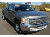 2013 Graystone Metallic Chevrolet Silverado 1500 LT Extended Cab #87790087