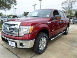 2013 Ruby Red Metallic Ford F150 XLT SuperCrew 4x4 #87789852