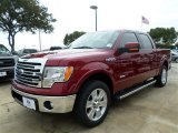 2013 Ruby Red Metallic Ford F150 Lariat SuperCrew #87789849