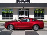 2014 Ruby Red Ford Mustang V6 Premium Coupe #87790015