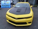 2014 Bright Yellow Chevrolet Camaro SS/RS Coupe #87789843