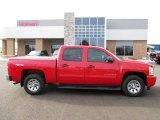 2010 Victory Red Chevrolet Silverado 1500 LS Crew Cab 4x4 #87790122