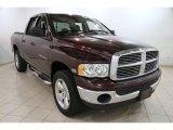 2004 Deep Molten Red Pearl Dodge Ram 1500 SLT Quad Cab 4x4 #87790061