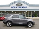 2013 Sterling Gray Metallic Ford Explorer Limited 4WD #87789954