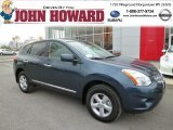 2013 Graphite Blue Nissan Rogue S AWD #87822353