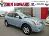 2013 Frosted Steel Nissan Rogue S AWD #87822349