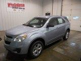 2014 Silver Topaz Metallic Chevrolet Equinox LS #87822508