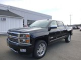 2014 Black Chevrolet Silverado 1500 High Country Crew Cab 4x4 #87822088