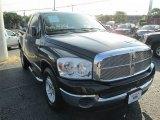 2008 Brilliant Black Crystal Pearl Dodge Ram 1500 SLT Regular Cab #87821998