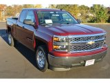 2014 Deep Ruby Metallic Chevrolet Silverado 1500 LT Double Cab #87822329
