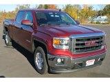 2014 Sonoma Red Metallic GMC Sierra 1500 SLE Crew Cab #87822328