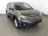 2014 Polished Metal Metallic Honda CR-V EX-L #87821917