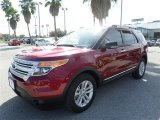 2013 Ruby Red Metallic Ford Explorer XLT EcoBoost #87821980