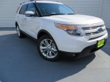 2014 White Platinum Ford Explorer Limited #87822143