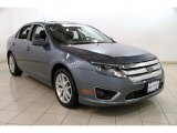 2011 Steel Blue Metallic Ford Fusion SEL V6 #87822310