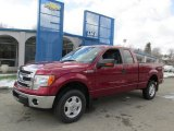 2013 Ruby Red Metallic Ford F150 XLT SuperCab 4x4 #87822059