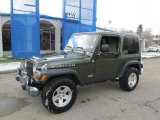 2006 Jeep Green Metallic Jeep Wrangler Rubicon 4x4 #87822058