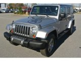 2013 Billet Silver Metallic Jeep Wrangler Unlimited Oscar Mike Freedom Edition 4x4 #87822382