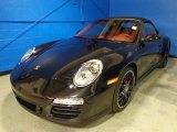 2012 Basalt Black Metallic Porsche 911 Carrera GTS Cabriolet #87821898