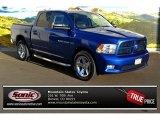 2011 Deep Water Blue Pearl Dodge Ram 1500 Sport Crew Cab 4x4 #87821894