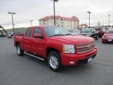 2013 Victory Red Chevrolet Silverado 1500 LTZ Crew Cab 4x4 #87822289