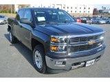 2014 Tungsten Metallic Chevrolet Silverado 1500 LT Z71 Crew Cab 4x4 #87822368