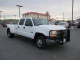 2005 Summit White Chevrolet Silverado 3500 LS Crew Cab 4x4 Dually #87822288