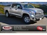 2014 Silver Sky Metallic Toyota Tundra SR5 Crewmax 4x4 #87821885
