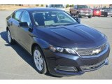 2014 Blue Ray Metallic Chevrolet Impala LS #87822366