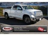 2014 Super White Toyota Tundra Limited Double Cab 4x4 #87821884