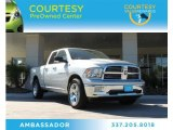 2012 Bright Silver Metallic Dodge Ram 1500 Big Horn Quad Cab #87865146