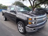 2014 Tungsten Metallic Chevrolet Silverado 1500 LT Double Cab #87865333