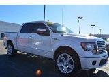 2011 White Platinum Metallic Tri-Coat Ford F150 Limited SuperCrew #87864936